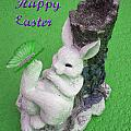 Easter Card 2 by Aimee L Maher ALM GALLERY