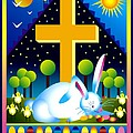 Easter Card by Nancy Griswold
