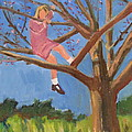 Easter In The Apple Tree by Betty Pieper
