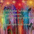 Easter Inspiring Digital Painting by Georgeta Blanaru