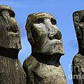 Easter Island 16 by Bob Christopher