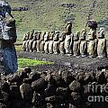 Easter Island 4 by Bob Christopher