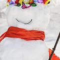 Easter Snowman by LeeAnn McLaneGoetz McLaneGoetzStudioLLCcom