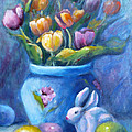 Easter Still Life by Carolyn Jarvis