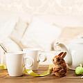 Easter Tea Break by Amanda Elwell