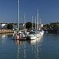 Eastern Side Moorings - Ryde Harbour by Rod Johnson