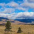 Eastern Sierras 28 Pano by Richard J Cassato