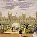 Eastern View Of The Castle And Garden by James Baker Pyne