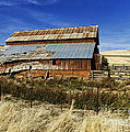 Eastern Washington Barn by Ron Roberts