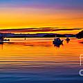 Echo Bay Sunset by Robert Bales
