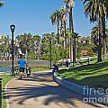 Echo Park Los Angeles by Howard Stapleton