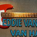 Eddie Van Halen Guitar by Gary Keesler