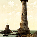 Eddystone Lighthouse Plymouth England by Bill Cannon