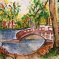 Eden Park Lake by Elaine Duras