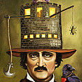 Edgar Allan Poe by Leah Saulnier The Painting Maniac