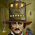 Edgar Allan Poe Updated Image by Leah Saulnier The Painting Maniac