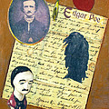 Edgar Allen Poe by Judy Tolley