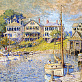 Edgartown  Martha's Vineyard by Colin Campbell Cooper