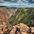 Edge Of The Black Canyon by Adam Jewell
