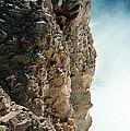 Edge Of The Upper Falls by Sandra Bronstein