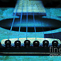 Edgy Abstract Eclectic Guitar 16 by Andee Design