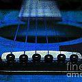 Edgy Abstract Eclectic Guitar 18 by Andee Design