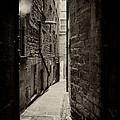 Edinburgh Alley Sepia by Jane Rix