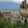 Edinburgh Castle by Denise Mazzocco