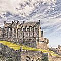 Edinburgh Castle Painting by Antony McAulay
