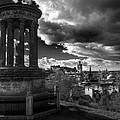 Edinburgh From Calton Hill by Ross G Strachan