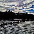 Edinburgh In Silhouette by Karen Bain
