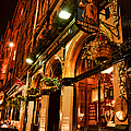 Edinburgh Pub At Night by Charlene Gauld