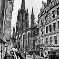 Edinburgh Tourists by Trever Miller