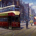 Edinburgh Tram 1953. by Mike  Jeffries