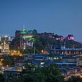 Edinburgh Twilight by Brian Jannsen