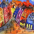 Edinburgh's Royal Mile  by Karen Larter