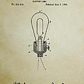 Edison Electric Lamp Patent 3 -  1882 by Daniel Hagerman