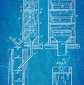 Edison Magnetic Separator Patent Art 1901 - Blueprint by Ian Monk