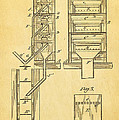 Edison Magnetic Separator Patent Art 1901 by Ian Monk