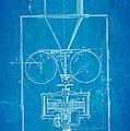 Edison Motion Picture Camera Patent Art 1897 Blueprint by Ian Monk