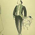 Edmond Rostand (1868-1918) by Granger