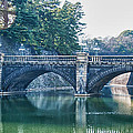 Edo Castle And Nijubashi Bridge by Guy Whiteley