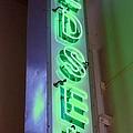 Edsel Sign Aglow by Barbie Corbett-Newmin
