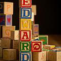 Edward - Alphabet Blocks by Edward Fielding