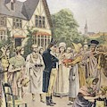Edward Jenner Carries Out His First by Mary Evans Picture Library