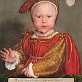 Edward Vi As A Child by Hans Holbein the Younger
