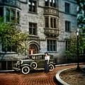 Edwardian Lady By Car by Jill Battaglia