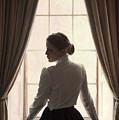 Edwardian Woman At The Window by Lee Avison