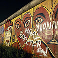 Berlin Wall Hearts by Shaun Higson