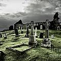 Eerie Cemetery by Andy Page